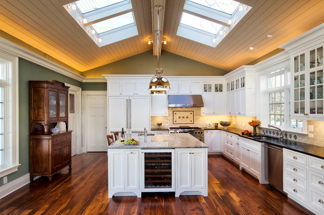 Neoclassical Home Traditional Kitchen New York By