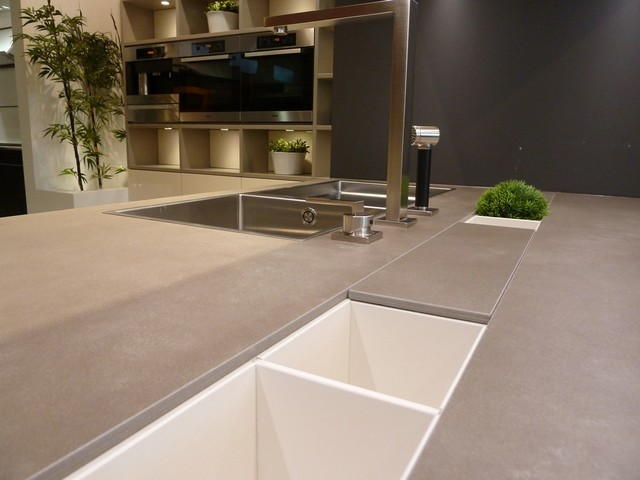 Neolith Cement - Contemporary - Kitchen - boston - by ...