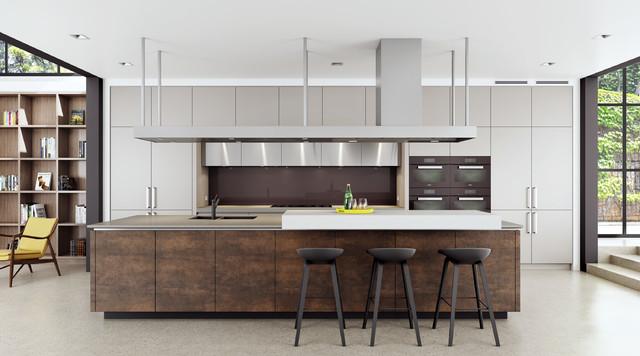 Neolith Kitchen - Industrial - Küche - Sydney - von Dan Kitchens ...