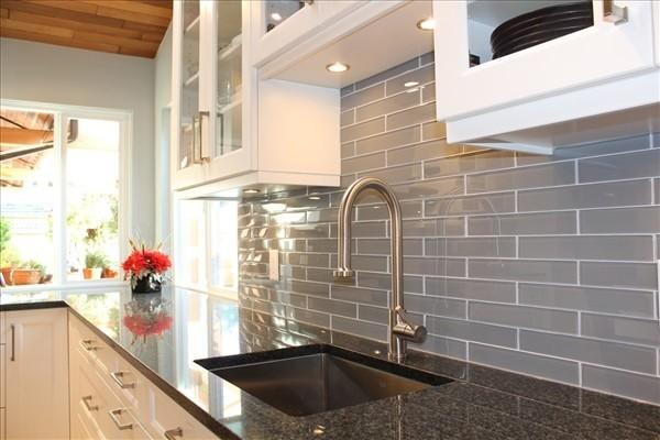 Nero Impala Granite - Traditional - Kitchen - vancouver - by Houstone Enterprises Ltd