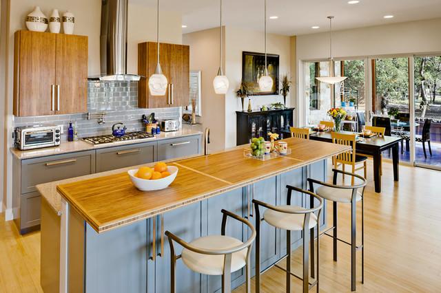 Net zero house austin area modern k che austin for Danze e davis architects