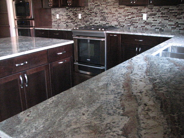 espresso kitchen cabinets with granite netuno bordeaux granite on cherry espresso cabinets 8877