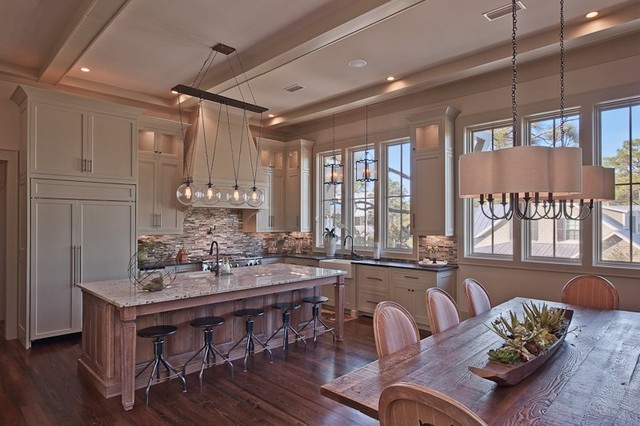 Neutral Tone Kitchen eclectic-kitchen