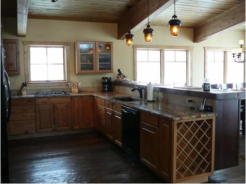 Rustic Kitchen Never Summer Denver By Rj Design Homes Inc On