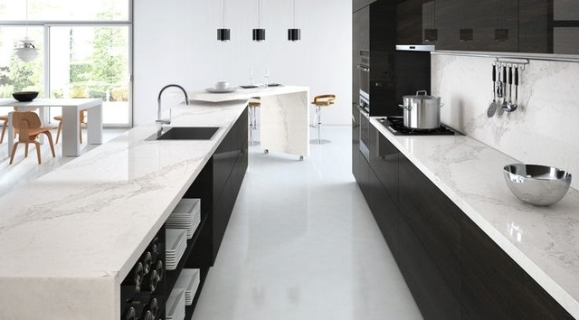 New 5131 Calacatta Nuvo - Modern - Kitchen - toronto - by Caesarstone