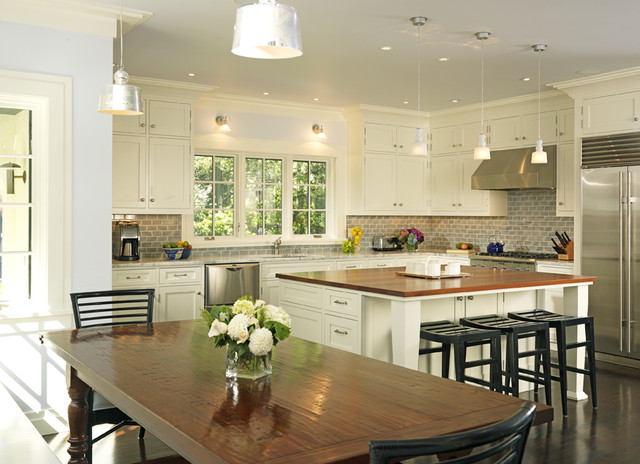 New american home kitchen for American kitchen ideas