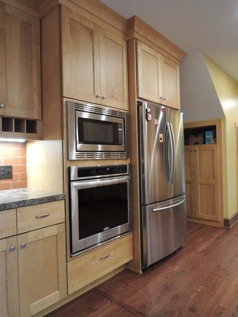 New appliances and custom cabinetry - Custom kitchen appliances ...