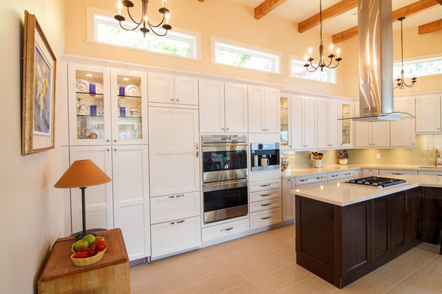 New Before and After Kitchen, Deep Cove traditional-kitchen