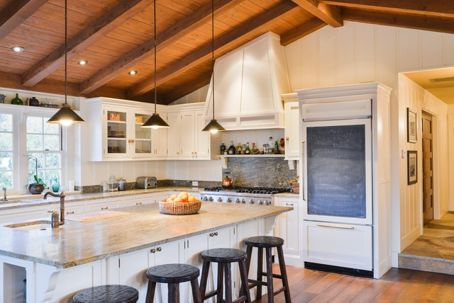 New california ranch for Cal s country kitchen