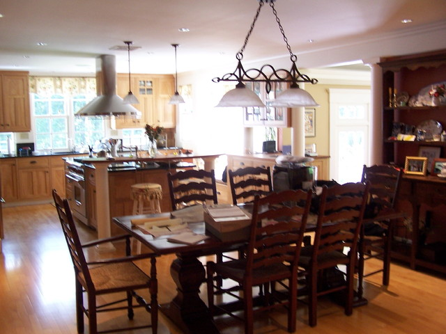 New Canaan Ct Traditional Kitchen Boston By Hot Apple Pine Llc