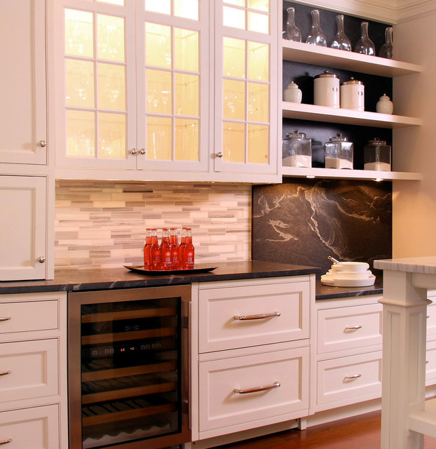 Custom White Kitchen Cabinets In New Canaan CT Traditional Kitchen Oth