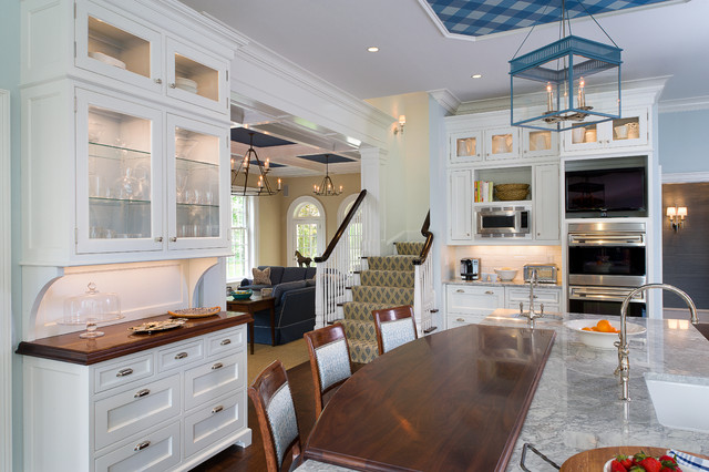 New Canaan Kitchen Traditional Kitchen Other By Veronica Campbell Of Deane Inc