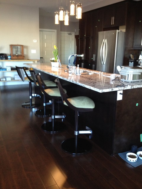New Condo Project Contemporary Kitchen Edmonton By Karen Goodale Design
