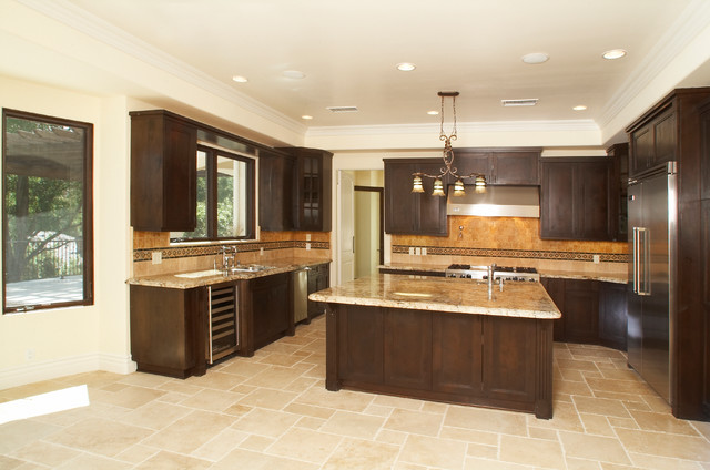 New Construction | Encino, CA traditional-kitchen