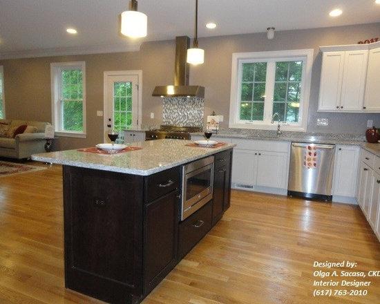 Transitional Vent Hood Duct Home Design, Photos & Decor Ideas