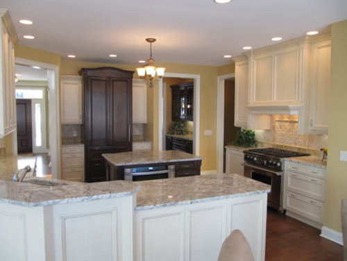 New construction kitchens traditional-kitchen