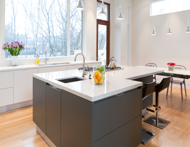 New Construction - Lawrence Park, Toronto contemporary-kitchen