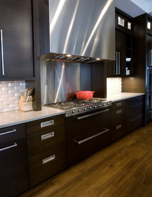 new construction contemporary-kitchen