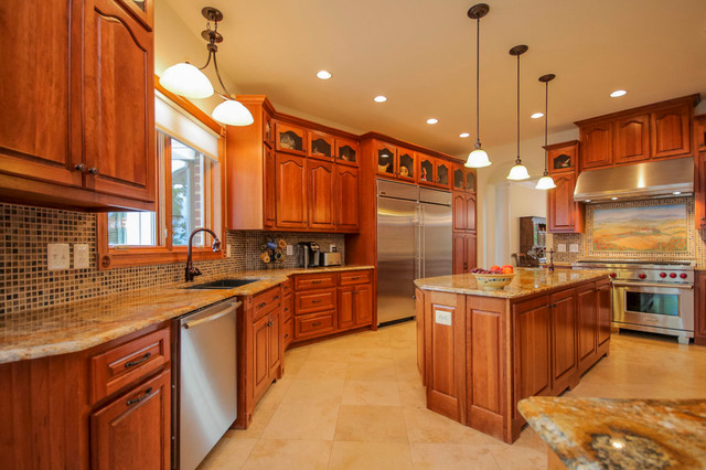 New Construction Stafford Northern Virginia Traditional Kitchen Dc Metro By Tatiana