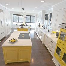 New Construction White Kosher Kitchen ~ Pepper Pike  OH