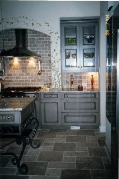 New Contruction Kitchen and Baths in Fulshear, TX. mediterranean-kitchen