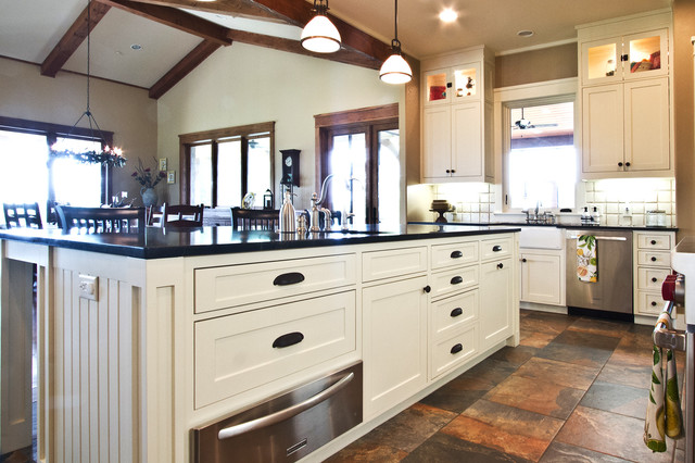 New Country Home - Craftsman - Kitchen - Dallas - by Millwork Visions, LLC