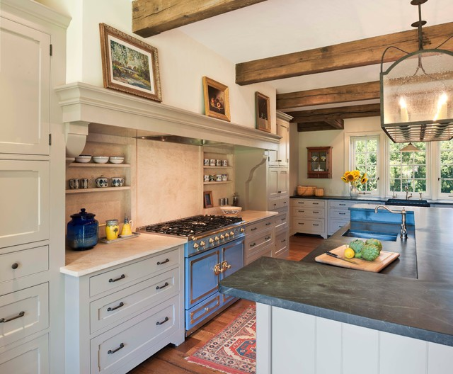 New Country House, Chester County, PA - Farmhouse - Kitchen ...