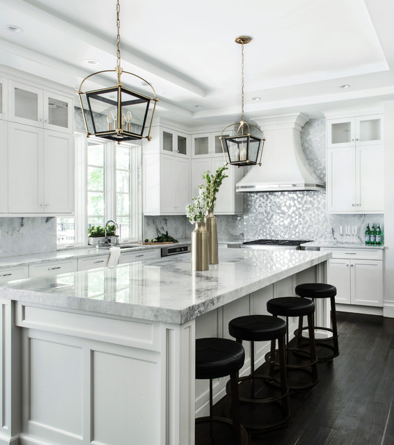 Amazing New County Road Transitional Kitchen