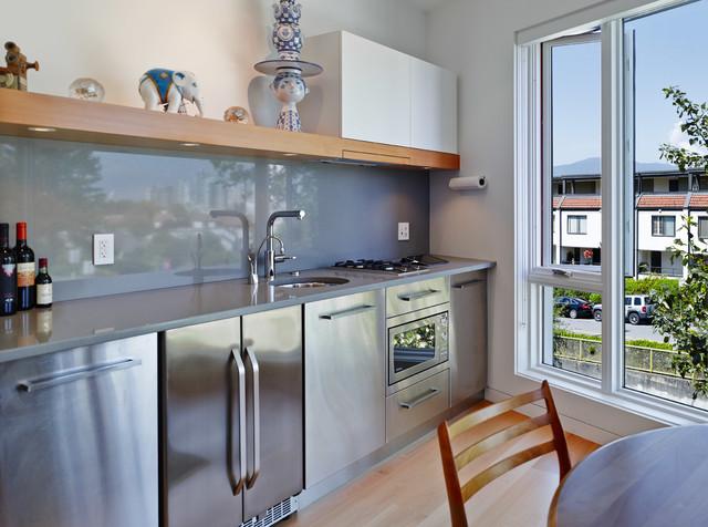 New Custom Home Vancouver, BC modern-kitchen