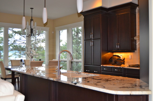 New Custom Maple Cabinets...dark stain - Traditional ... on Dark Maple Cabinets  id=22727