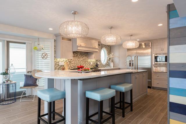New england beach house - Cucina al mare ...
