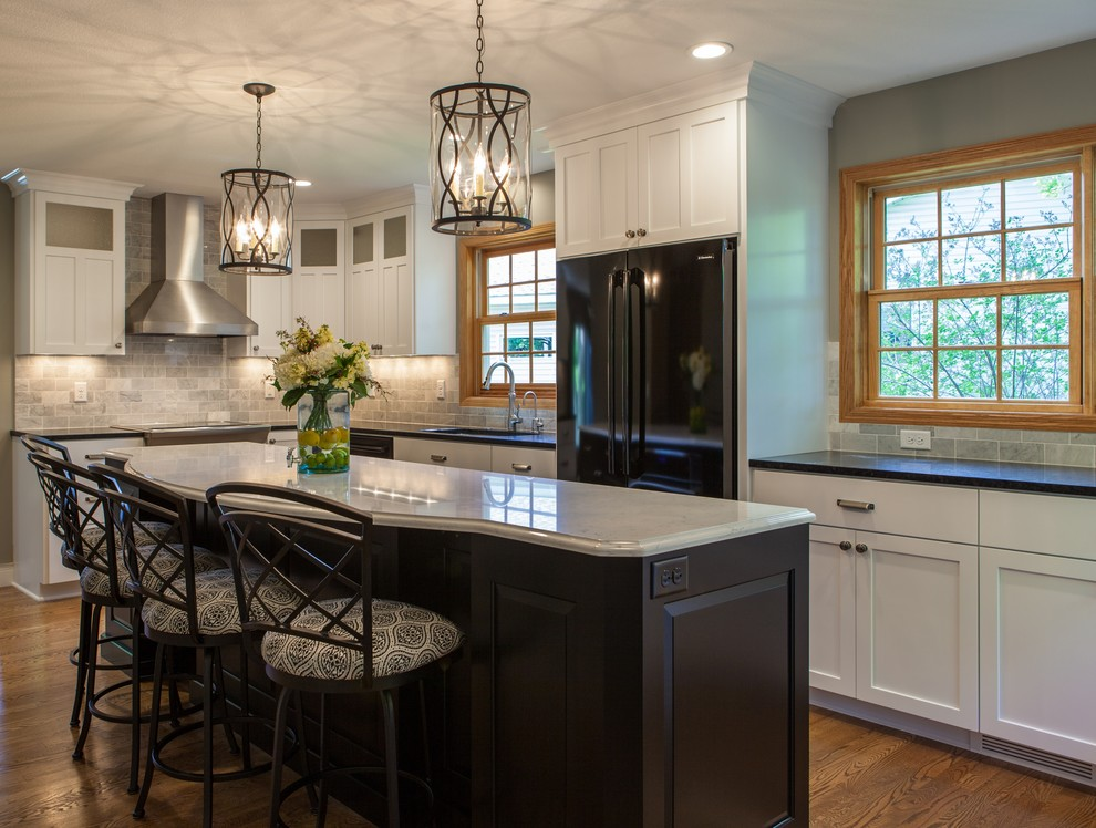 New England Colonial Kitchen