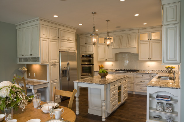 New England Cottage Traditional Kitchen Other By