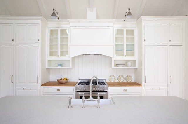 New England Farmhouse Kitchen contemporary kitchen