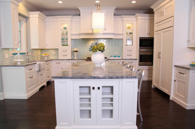 New England Style Home - Traditional - Kitchen - Chicago ...