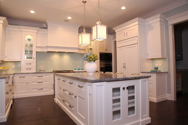 New England Style Home traditional-kitchen