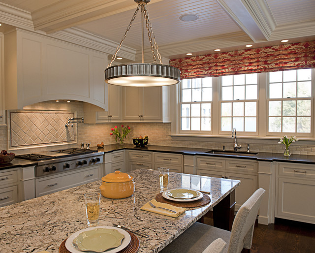New England Traditional Kitchen