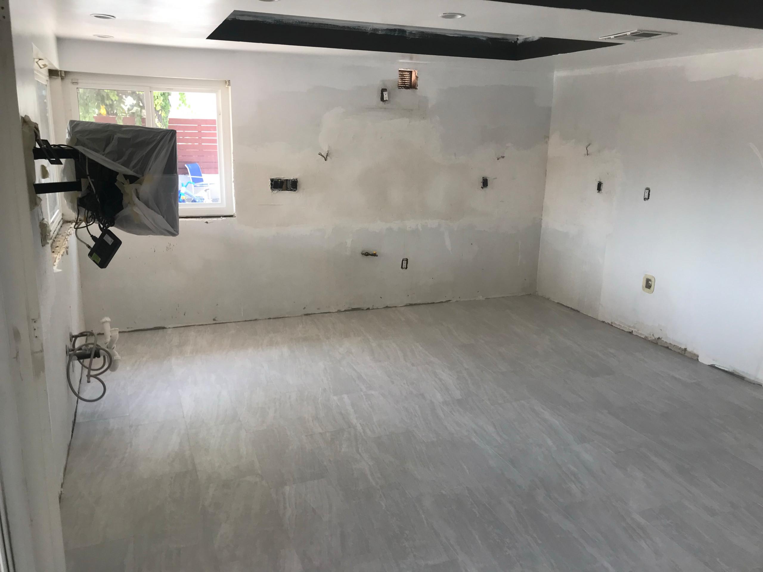New flooring complete