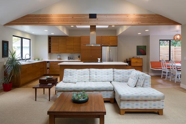 New great room moderno cocina san francisco de for Maison design com
