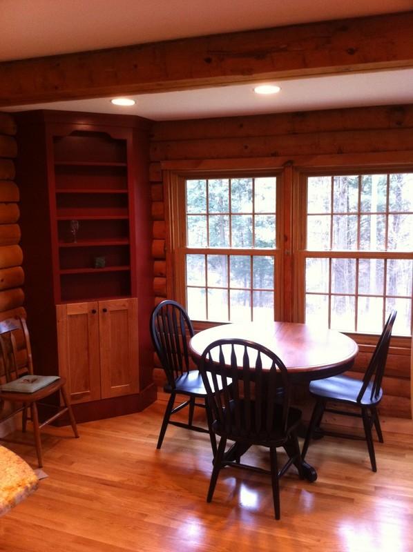 New Hartford, CT log cabin