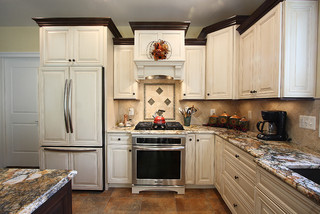 Bon You Can Empathize The Stepped Design With With Stacked Molding On Higher  Cabinet Boxes And Less Stacked Molding On The Lower Boxes.