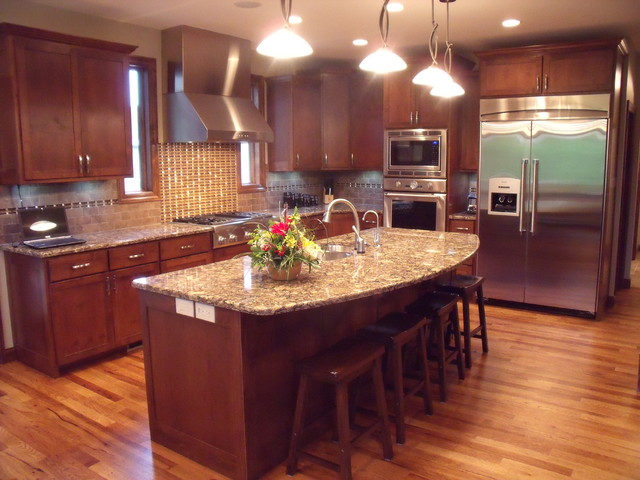 New Home-Hoe traditional-kitchen