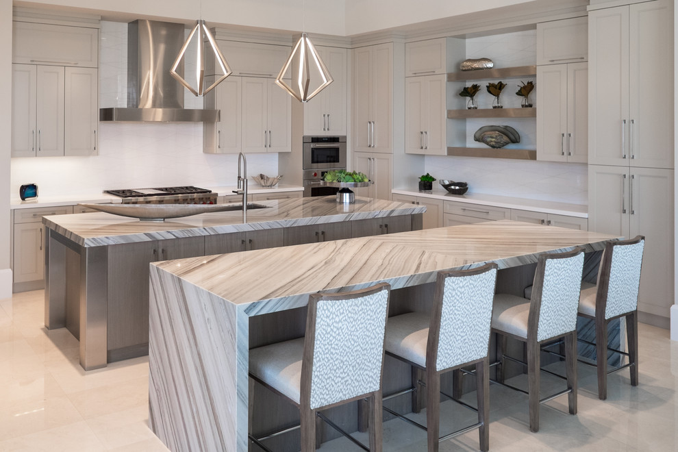 New Home Palm Beach Gardens Contemporary Kitchen Miami By Patrona Marble