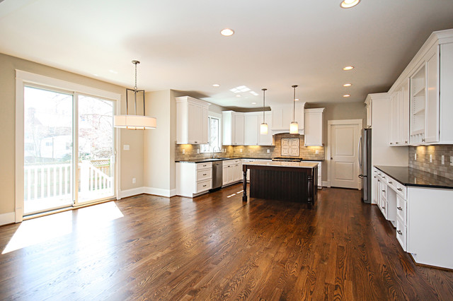 New homes in northern va transitional kitchen dc for Modern homes northern virginia