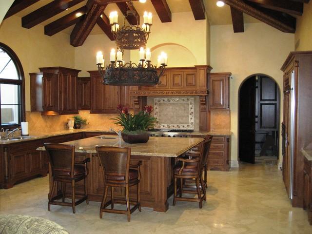 New House in the Desert mediterranean-kitchen