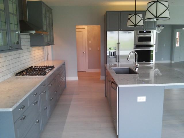New IKEA Kitchen Installation NW Omaha Modern Kitchen Omaha By WeDeli