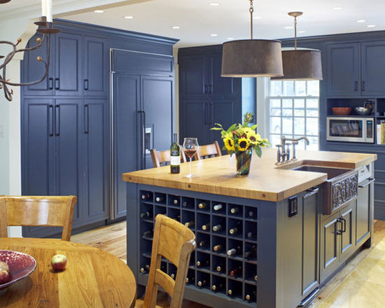 Slate blue cabinets home design ideas pictures remodel for Slate blue kitchen decor