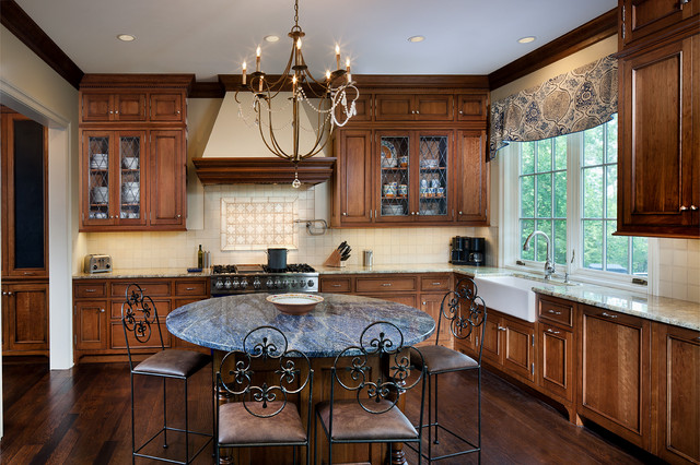 New LEED Platinum Home- Hyde Park traditional-kitchen