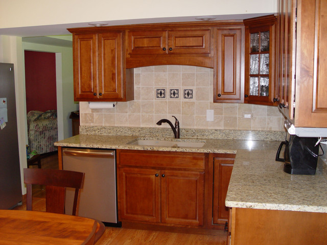 New Lenox Traditional Kitchen Remodel