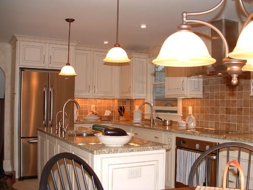 Tile backsplash charlotte 4x4 noce tile party for 4x4 kitchen ideas